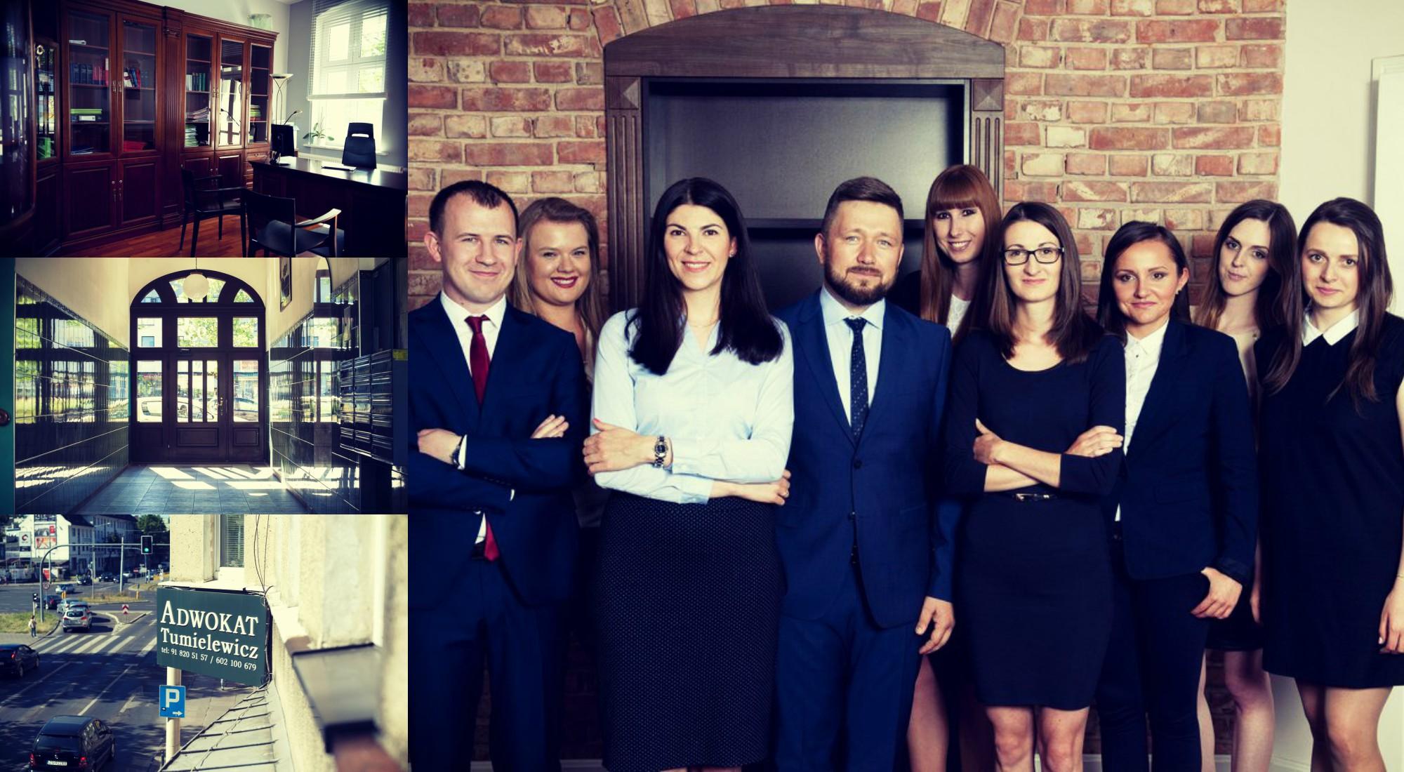 Młody i kreatywny zespół prawników